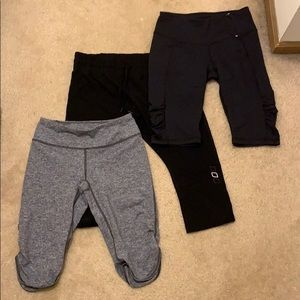 Pants - BUNDLE of cropped workout bottoms